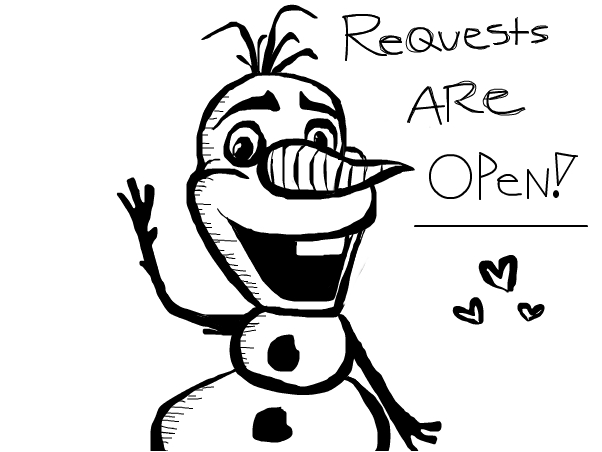 Disney Requests Are OPEN!!!