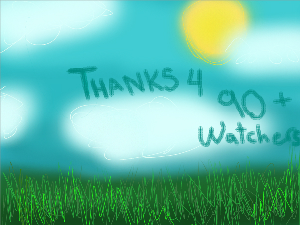 Thanks for 91 watchers!!