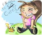 pikachu is SO cute!