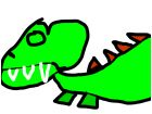 My t-rex and stegosaurus fused together. :P