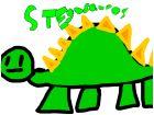 My stegosaurus
