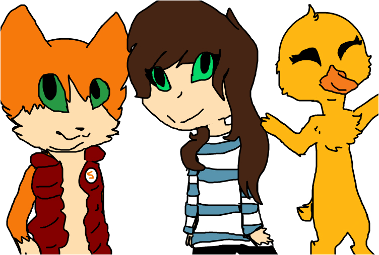 Stampy, Stacy, and Squashy