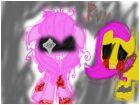 Pinkamena and Amnesia Fluttershy