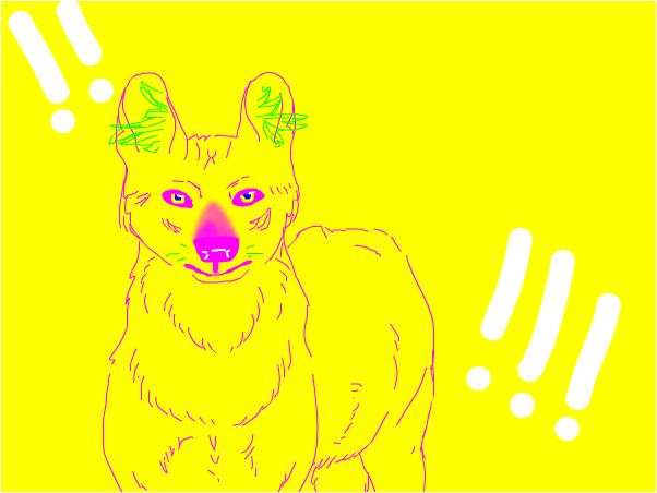 a more realistic eyeblinding dhole