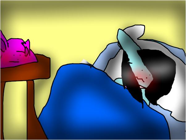 i got a weird dream  when i could sleep-kena