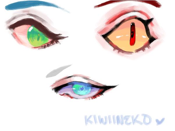 eye color practice