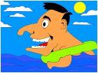 Bubba Kazoo Beach Swim