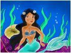 Princess Jasmine as a Mermaid
