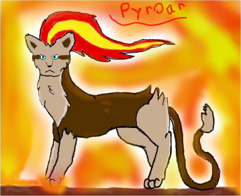Female Pyroar