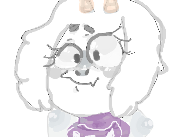 how i draw goat mom -moshi