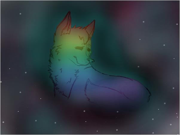 Rainbow ~Kitten