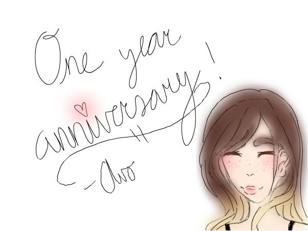 one year anniversary !
