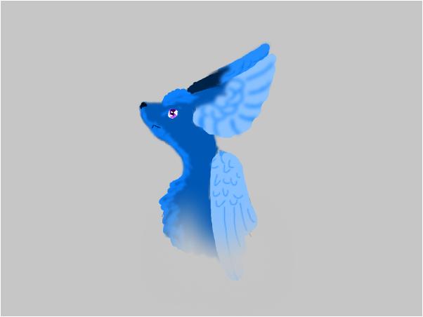 Winged Portrait