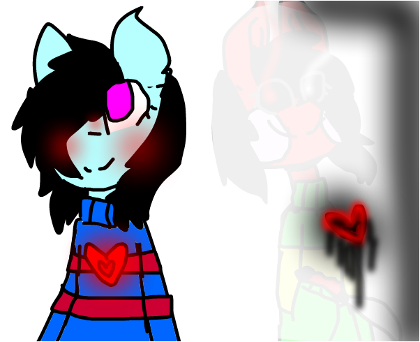 undertale cosplay ft.my oc and her bad side-kena