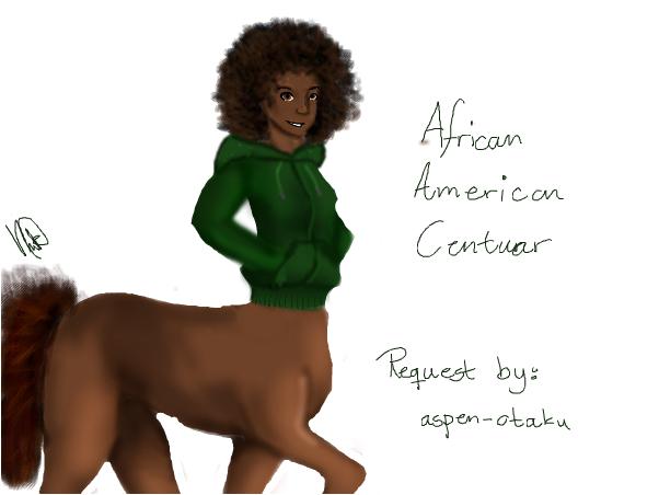 African American Centuar (Request)