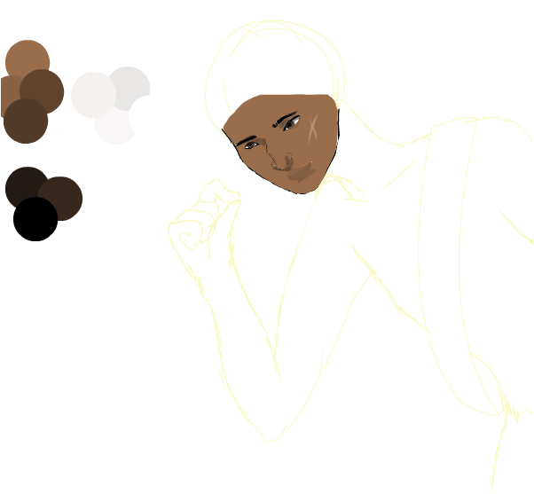 African American Centuar Wip