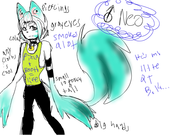 Ref for my oc Neo