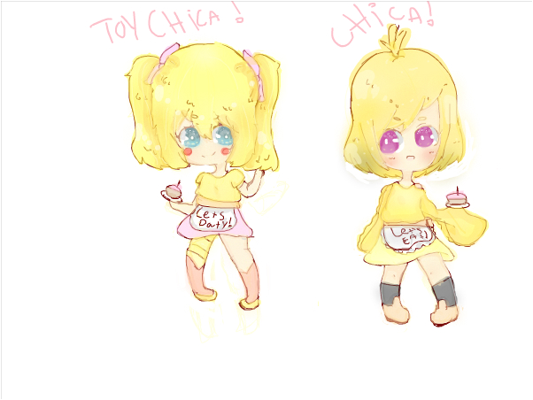 toy chica and chica