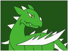 Lizard Dragon  Epic Form