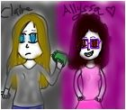 Claire and Allyssa (OCs)