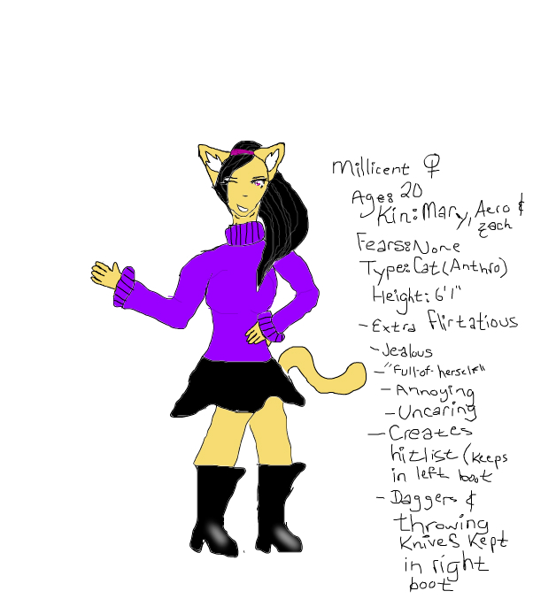 New character: Millicent ~Alpha