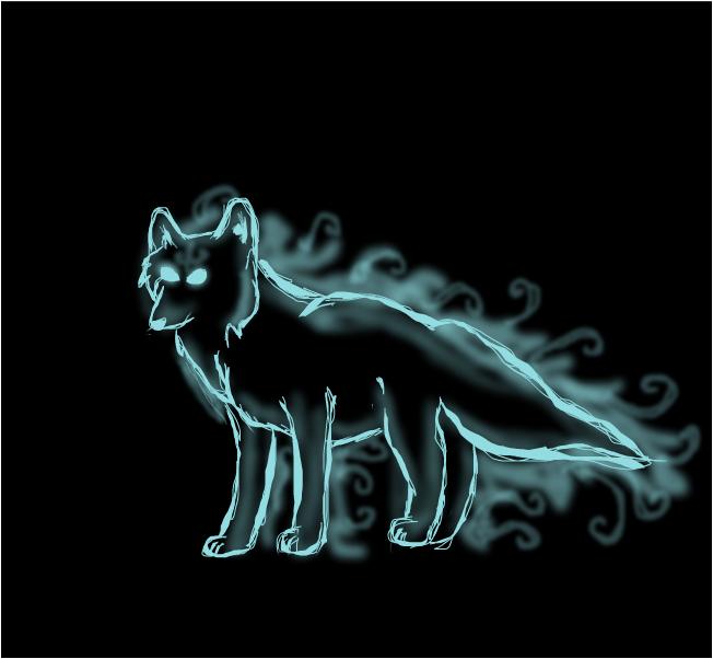Wolf Patronus ~Alpha