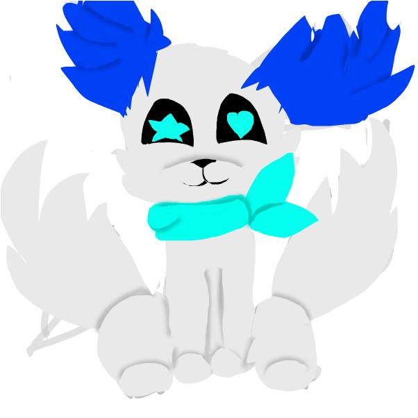 New OC- KItty Blue