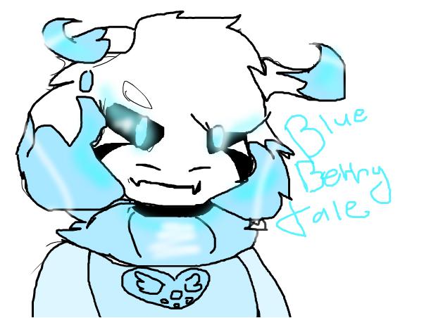 (Redraw ) Blueberry Tale Asriel