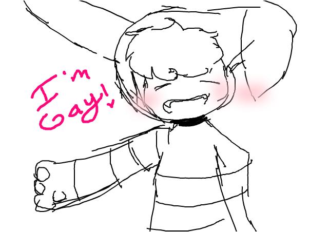 """I""""m gay :>"""