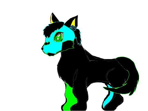 My wolf oc