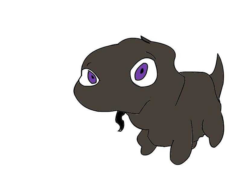 Mud Dragon Baby