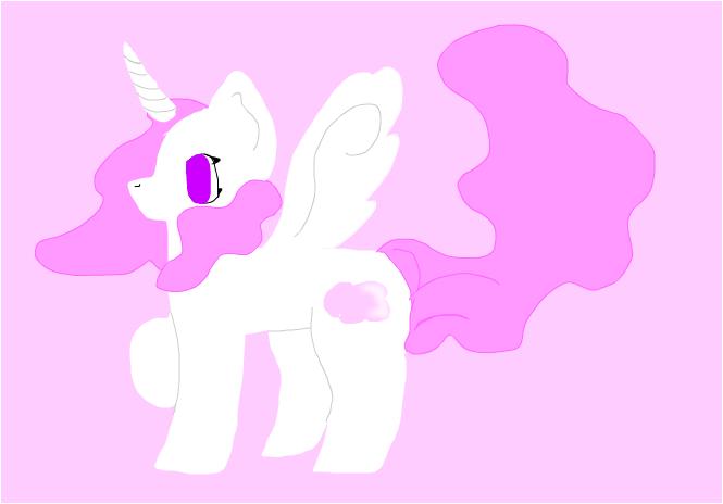 Pink Cloud mlp oc