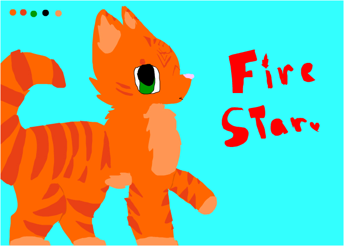 Random drawing of FireStar :P