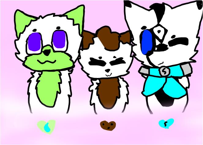 Friends! X3