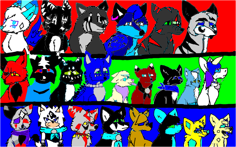 Oc group pic (and a few extras)