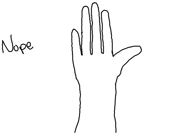 hands be like