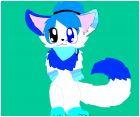 My Fursona- Azule Waters