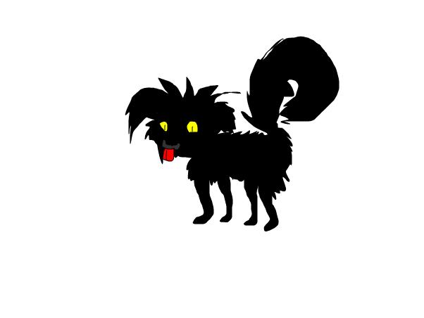 stray dog mutent