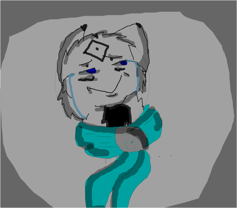 When you look back at your old cringy art...