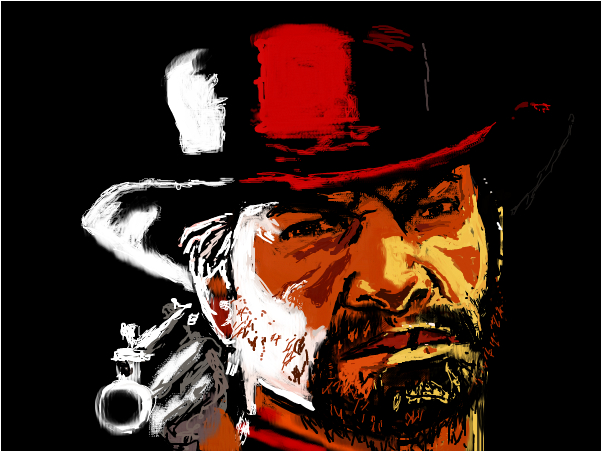 Red Dead Redemption (Quick Drawing)