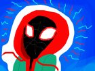 Miles Morales into the spiderverse