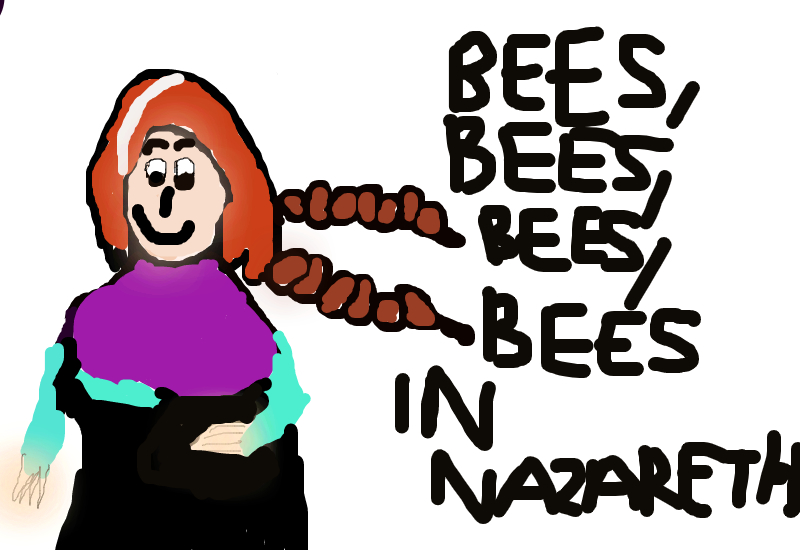 Bees, bees, bees, bees in Nazareth