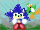 Sonic meet club penguin