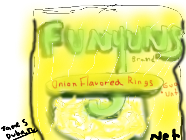 Funyuns Chip Bag