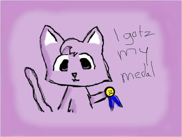 Kiya + Medal
