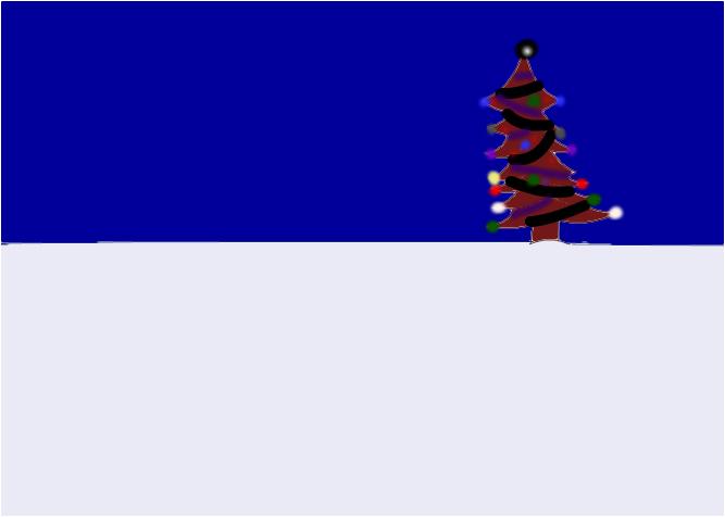 gothic christmas tree 1
