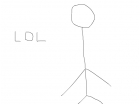 french stick figure