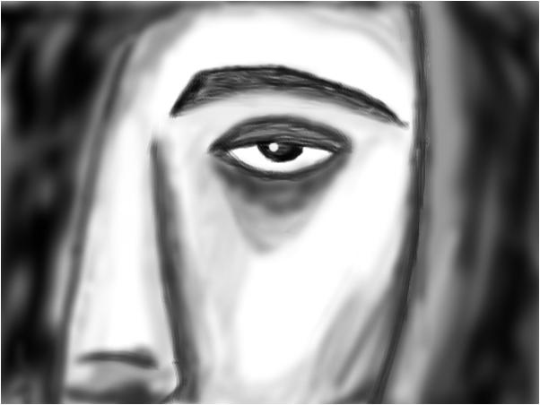 1/2 Face