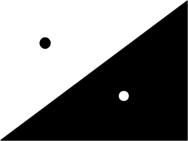 Ying-and-Yang dots