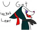 u got hacked!